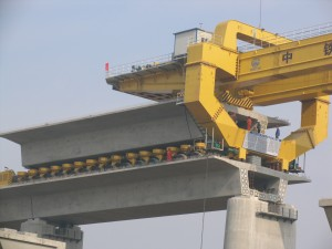 HZY900T girder transporter