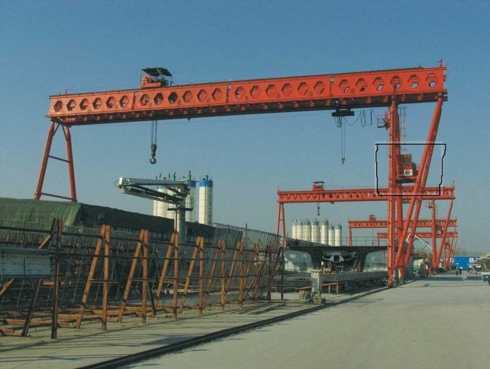 honeycomb girder gantry crane