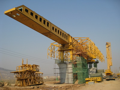 Movable scaffolding system