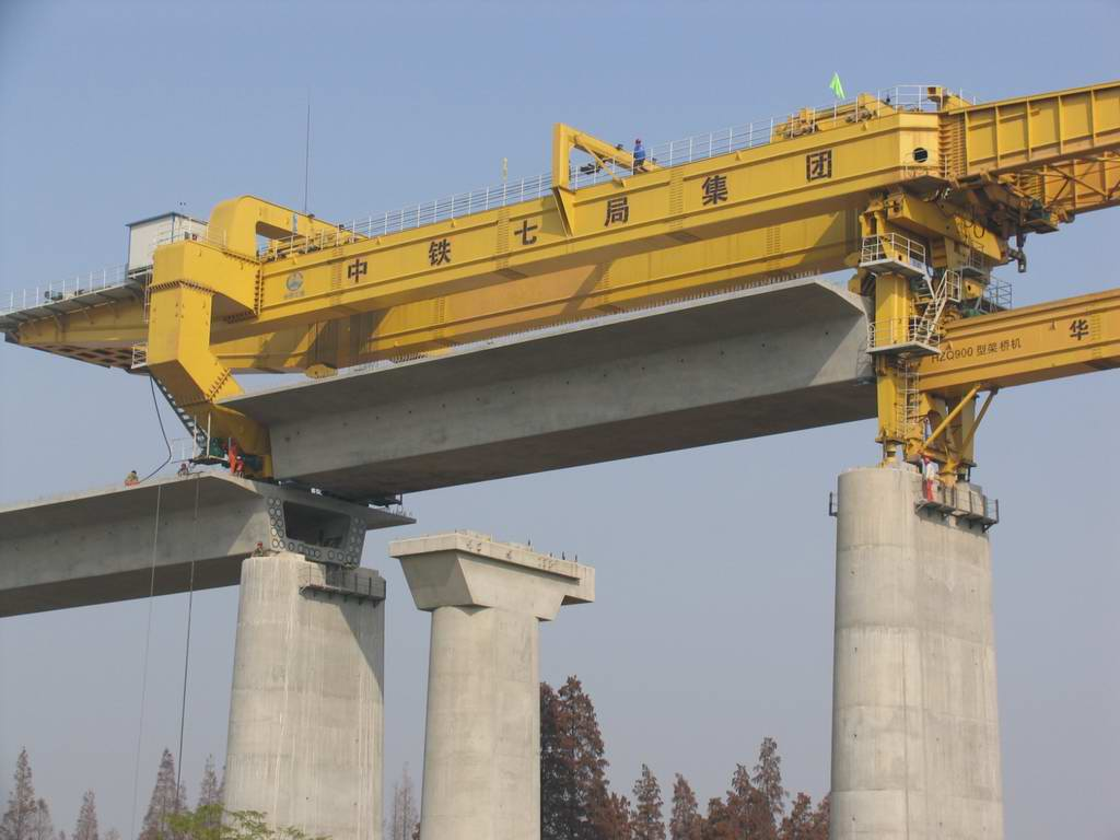 HZQ900T bridge girder launcher