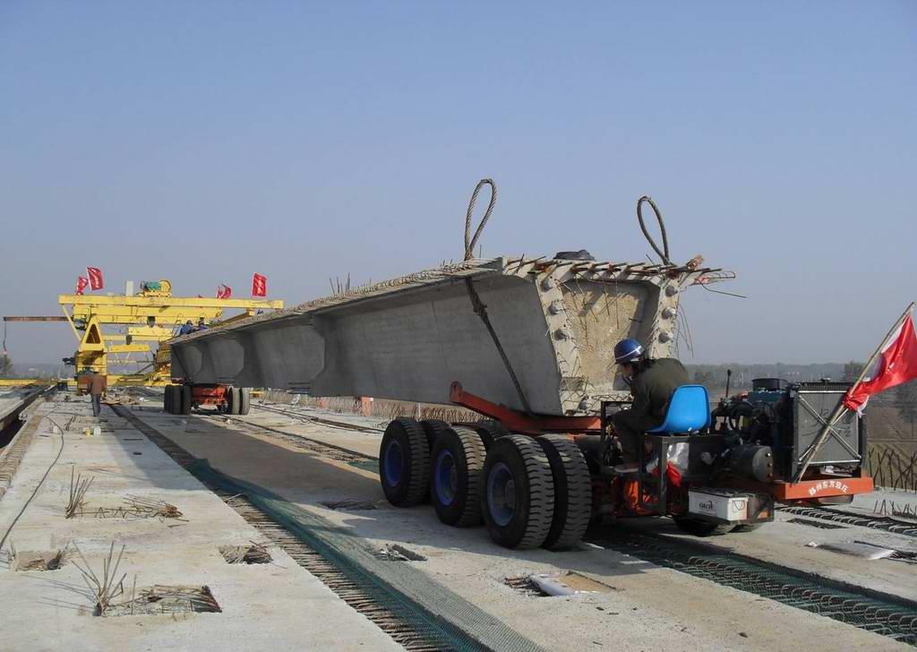 bridge girder launcher