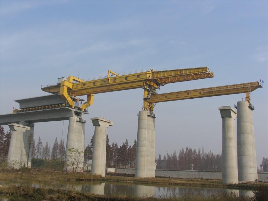 HZQ900T bridge construction crane