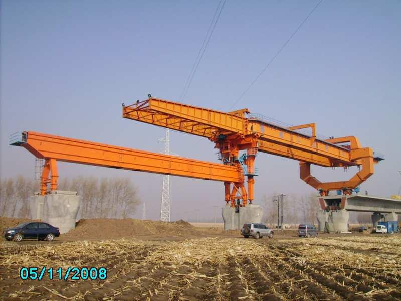 900t bridge construction crane
