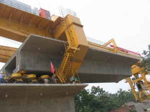 HZQ900T launching girder