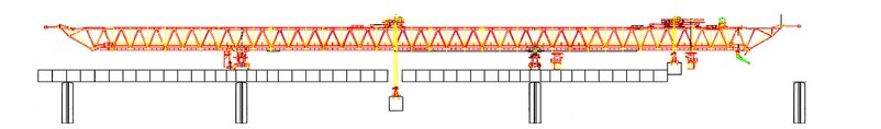 bridge building crane
