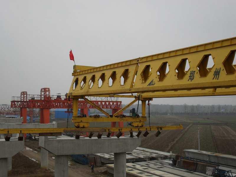 honeycomb type launching girder