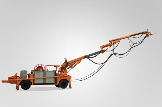 Concrete Spraying System